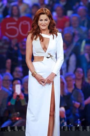 Andrea Berg bei der Show anlässlich 50. Geburtstags