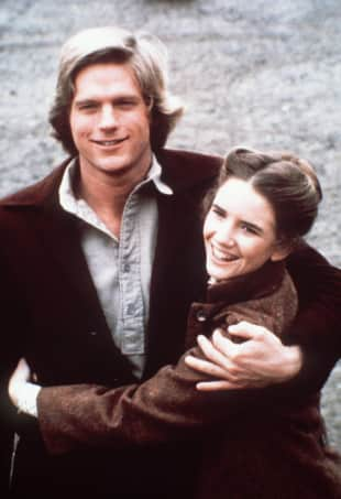 Dean Butler Melissa Gilbert Little House on the Prairie Almanzo Wilder Laura Ingalls