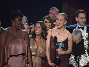 """Der """"Orande Is The New Black""""-Cast wurde mit einem Sag Award in der Kategorie Beste Comedy Serie ausgezeichnet"""