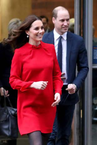 Herzogin Kate und Prinz William bei einem Besuch in Manchster im Dezember 2017
