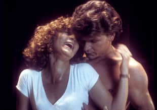 "Jennifer Grey und Patrick Swayze in ""Dirty Dancing"""