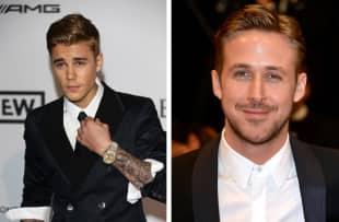 Justin Bieber und Ryan Gosling