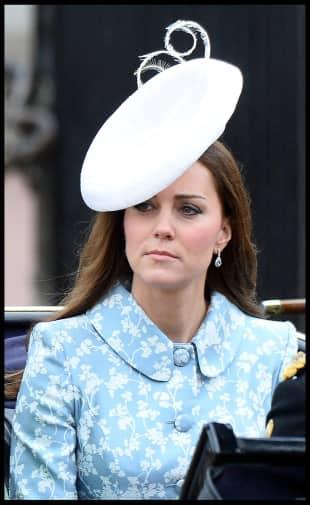 Kate Middletons erster öffentlicher Auftritt nach der Geburt von Prinzessin Charlotte