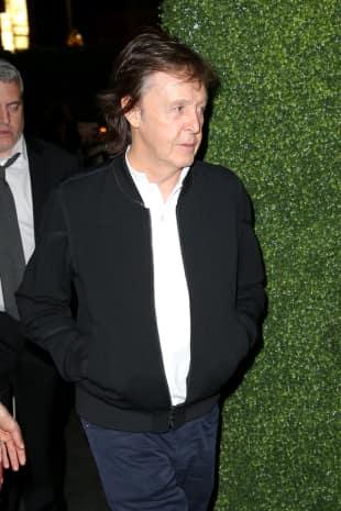 Paul Mccartney nach der Grammy-Verleihung im Jahr 2016