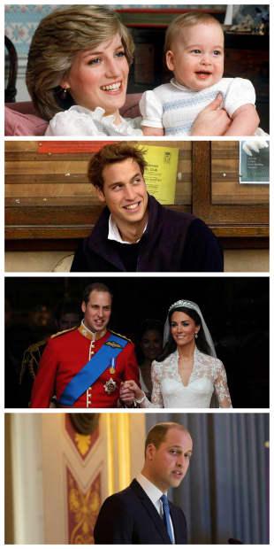 Prinz William - von Damals bis Heute