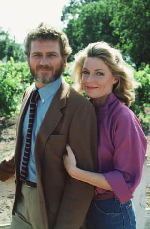 """Robert Foxworth und Susan Sullivan spielten gemeinsam in """"Falcon Crest"""""""