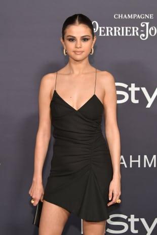 Selena Gomez kleines Schwarzes Instyle Awards