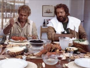 """""""Das Krokodil und sein Nilpferd"""" mit Terence Hill und Bud Spencer"""