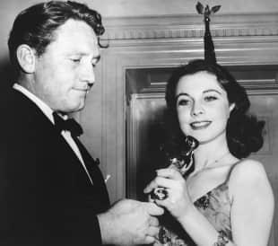 """Vivien Leigh gewann mit 26 Jahren einen Oscar für ihre Hauptrolle im Film """"Vom Winde verweht"""""""