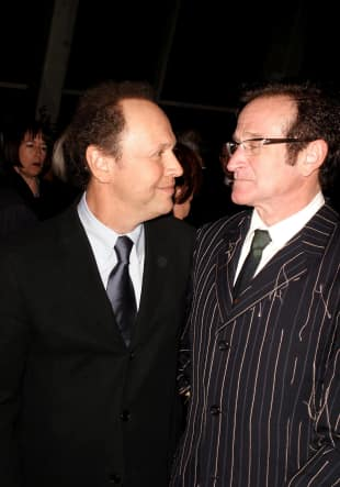 Billy Crystal und Robbin Williams 2003