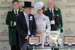 Prinz William und Herzogin Kate beim Pferderennen in Ascot