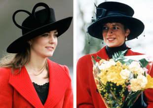 Herzogin Kate und Lady Diana im Style-Vergleich