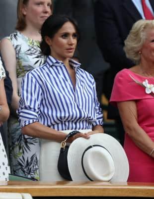 Herzogin Meghan Wimbledon