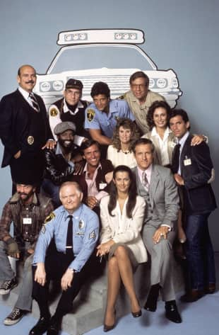"The cast of ""Hill Street Blues"""