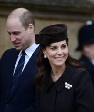 Herzogin Catherine, Schwanger, Prinz William