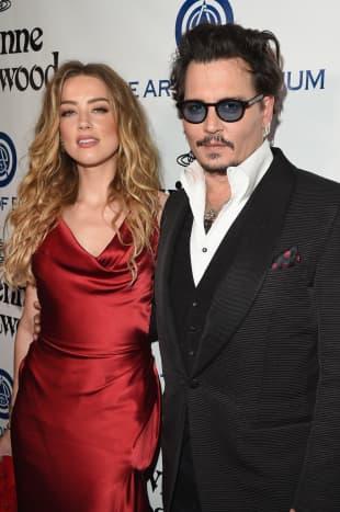 Amber Heard und Johnny Depp waren verheiratet, Paar, Hollywood