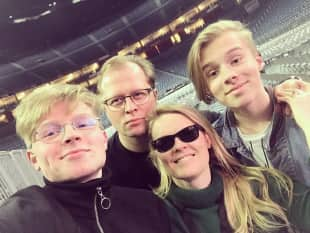 Patricia Kelly und ihre Familie, Patricia Kelly zeigt ihre Familie, Patricia Kellys Familie, Familie von Patricia Kelly, Patricia Kelly, Patricia Kelly privat