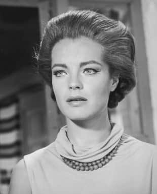 Schauspiel-Legende Romy Schneider im Jahr 1966