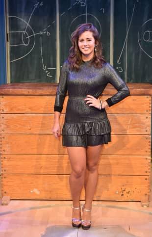 Sarah Lombardi im knappen Mini-Kleid