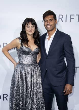 """Shailene Woodley und ihr Freund Ben Volavola bei der Premiere von """"Adrift"""" in Los Angeles"""