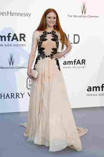 Barbara Meier amfAR-Gala 2015