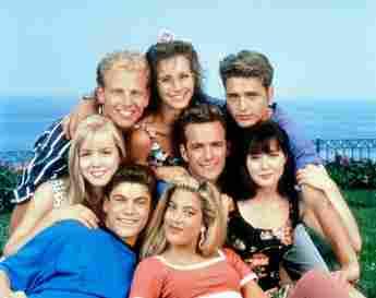 Beverly Hills 90210 Cast 1992