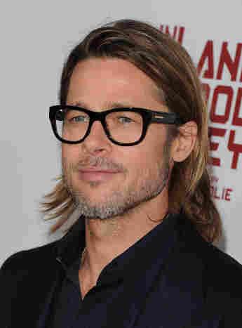 Brad Pitt, Brille