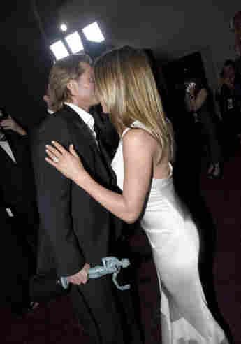 Brad Pitt und Jennifer Aniston; Brad Pitt und Jennifer Aniston 2020; Brad Pitt und Jennifer Aniston SAG Awards 2020