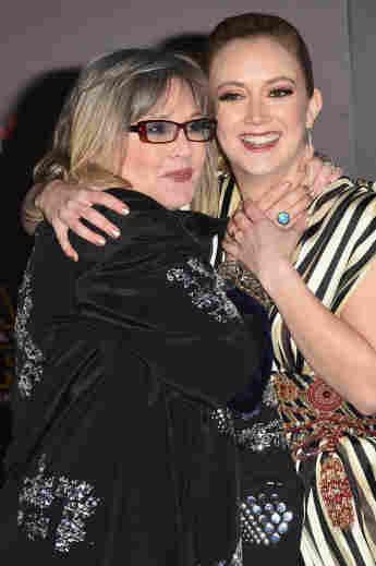 Carrie Fisher mit ihrer Tochter Billie Lourd