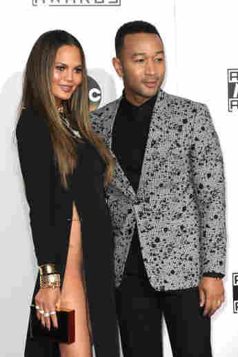 Chrissy Teigen und John Legend bei den American Music Awards