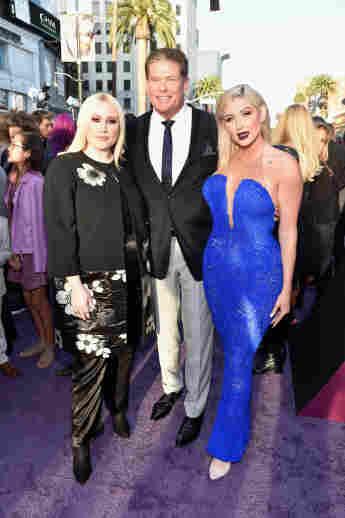 """Taylor Ann Hasselhoff, David Hasselhoff, und Hayley Hasselhoff bei der Premiere zu """"Guardians of the Galaxy Vol. 2"""""""