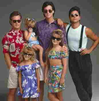 """Die """"Full House""""-Stars im Jahr 1989"""