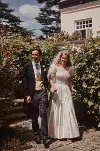 Prinzessin Beatrice und Edoardo Mapelli Mozzi an ihrem Hochzeitstag, 17. Juli 2020.