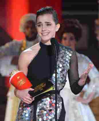 Emma Watson bekam den MTV Awards als Beste Schauspielerin