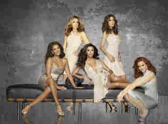 Felicity Huffman, Marcia Cross, Eva Longoria, Teri Hatcher und Vanessa Williams