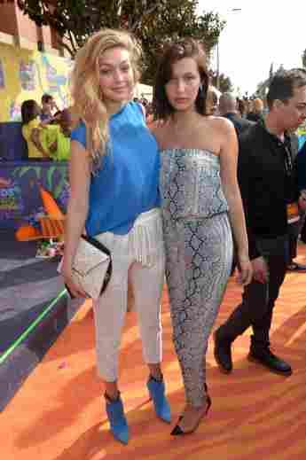 Gigi und Bella Hadid 2014