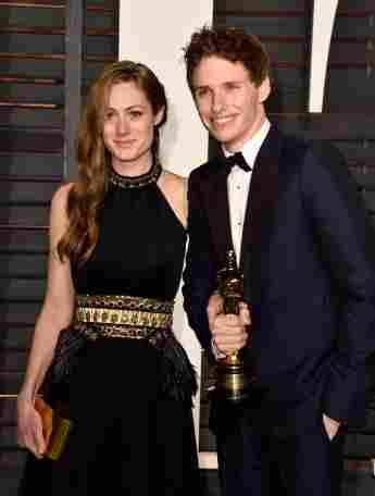 Hannah Bagshawe und Eddie Redmayne Baby Oscar