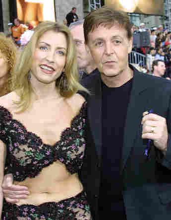 Heather Mills und Paul McCartney