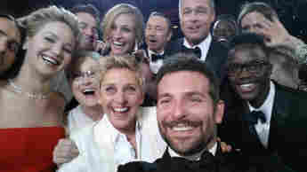 Ellen DeGeneres Oscar Selfie 2014