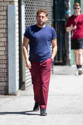 """The Wolf of Wall Street""-Darsteller Jonah Hill bei einem Spaziergang in New York"