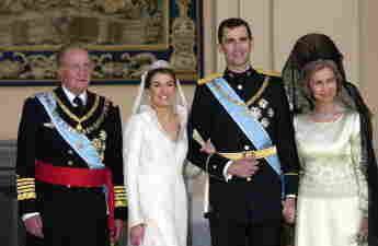 Königin Letizia Hochzeit, Königin Letizia