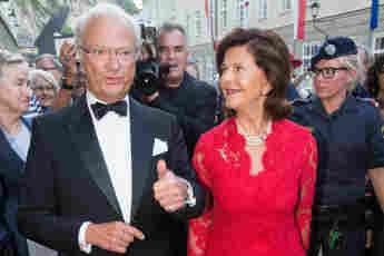 König Carl Gustav und Königin Silvia von Schweden besuchen Deutschland