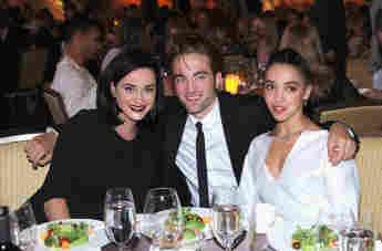 Robert Pattinson, FKA Twigs und Katy Perry bei der GO Campaign Gala