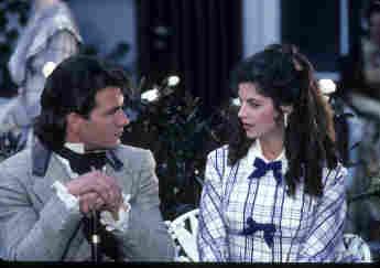 """Kirstie Alley verliebte sich bei den Dreharbeiten zu """"Fackeln im Sturm"""" in Patrick Swayze"""