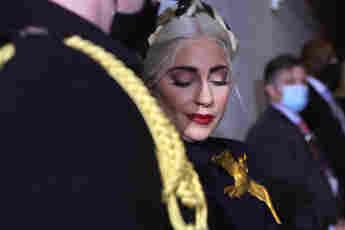 Lady Gaga Amtseinführung Joe Biden
