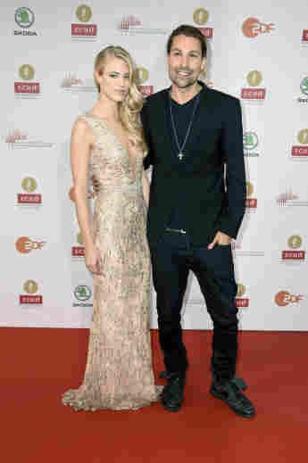 Larissa Marolt und David Garrett bei der Echo Klassik Verleihung in Berlin