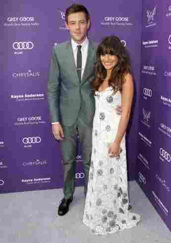 Lea Michele und Cory Monteith im Jahr  2013