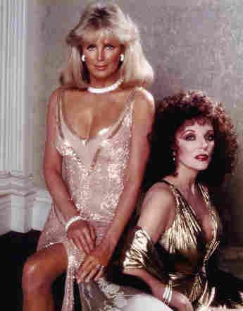 """Linda Evans und Joan Collins waren Feindinnen im """"Denver Clan"""""""
