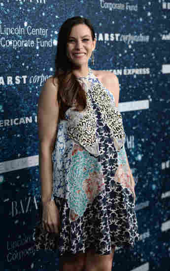 Liv Tyler  ist die Tochter von Aerosmith-Sänger Steven Tyler
