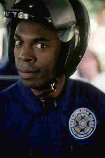 """Michael Winslow als """"Larvelle Jones"""" in """"Police Academy"""" 1984"""